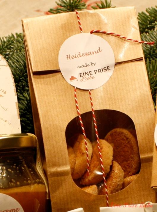 Weihnachtsschickerei Heidesand