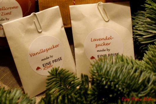 Weihnachtsschickerei Zucker